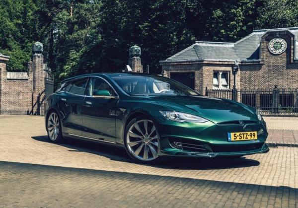 Тюнеры превратили Tesla Model S в универсал